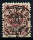 MEMEL 1923 Nr 175I zentrisch gestempelt gepr. 7B2472