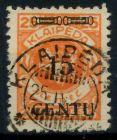 MEMEL 1923 Nr 170AI zentrisch gestempelt gepr. 7B248A