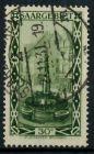 SAARGEBIET 1926 Nr 112 zentrisch gestempelt 7B249A