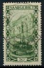 SAARGEBIET 1926 Nr 112 zentrisch gestempelt 7B249E