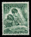BERLIN 1951 Nr 80-81 ungebraucht 7B25DE