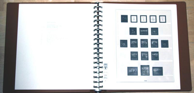 LINDER Ringbinder braun mit Text 117a 7B6546