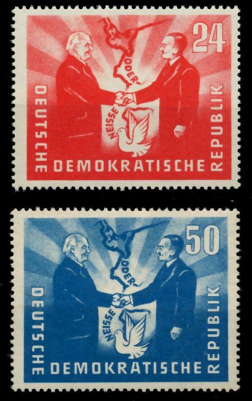 DDR 1951 Nr 284-285 postfrisch 7BAB9A