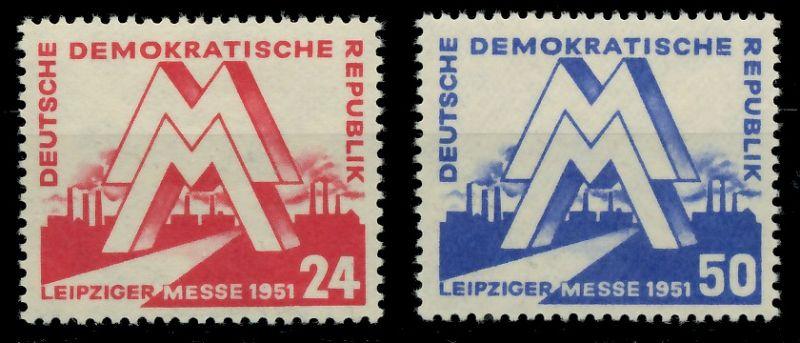 DDR 1951 Nr 282-283 postfrisch 7BAD6E