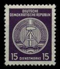 DDR DIENST VWP-B Nr 31yII XI postfrisch 7BD0CA