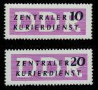 DDR DIENST VWP-A Nr I-II postfrisch 7BD0E2