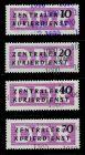 DDR DIENST VWP-A Nr 10-13 postfrisch 7BD0E6