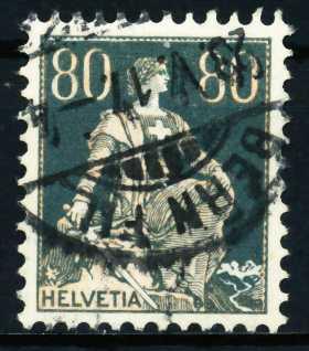 SCHWEIZ 1917 Nr 141x gestempelt 4C6406