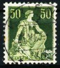 SCHWEIZ 1908 Nr 107x zentrisch gestempelt 69708A