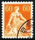 SCHWEIZ 1917 Nr 140z gestempelt 697036