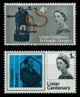GROSSBRITANNIEN 1965 Nr 390y-391y postfrisch 7C1F86