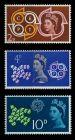 GROSSBRITANNIEN 1961 Nr 346-348 postfrisch 7C1F9A