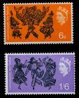 GROSSBRITANNIEN 1965 Nr 392x-393x postfrisch 7C1FAE
