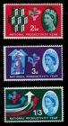 GROSSBRITANNIEN 1962 Nr 351x-353x postfrisch 7C1FE6