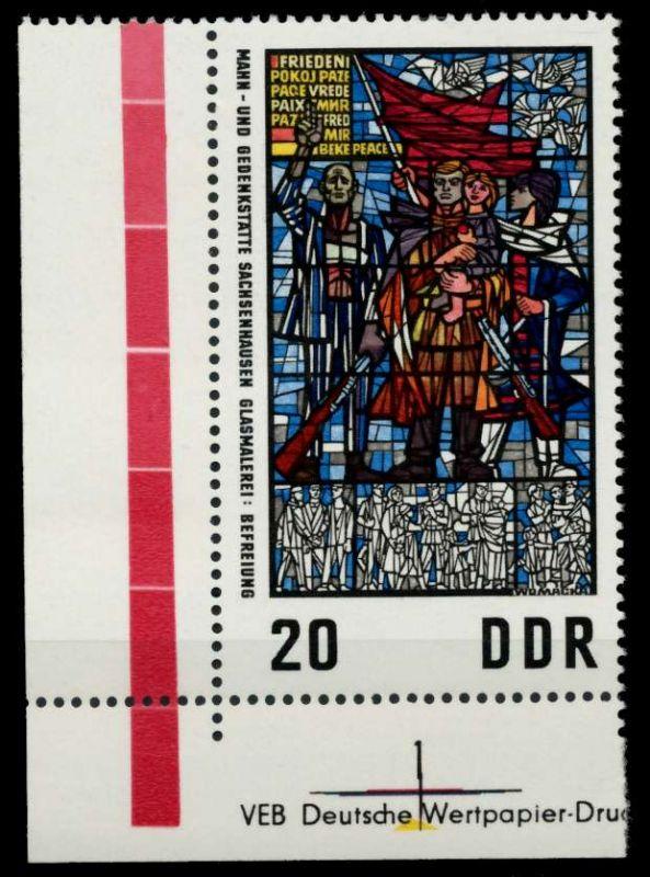DDR 1968 Nr 1347 postfrisch ECKE-ULI 92E53A