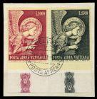 VATIKAN 1968 Nr 536-537 zentrisch gestempelt Briefst³ck 7C6BCE