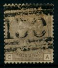 GROSSBRITANNIEN 1840-1901 Nr 61 P17 gestempelt 6A1B52