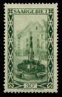 SAARGEBIET 1926 Nr 112II postfrisch 78B326