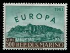 SAN MARINO 1961 Nr 700 ungebraucht 7C6C3E