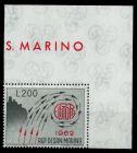SAN MARINO 1962 Nr 749 ungebraucht ECKE-ORE 7C6C4E