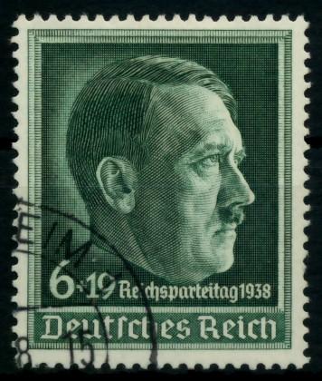 3. REICH 1938 Nr 672x gestempelt 6E2E3E