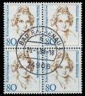 BRD DS FRAUEN Nr 1755 zentrisch gestempelt VIERERBLOCK 7D7F9A