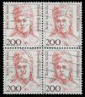 BRD DS FRAUEN Nr 1498 gestempelt VIERERBLOCK 7D7FA2