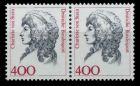 BRD DS FRAUEN Nr 1582 postfrisch WAAGR PAAR S51208A
