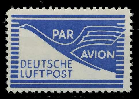 BIZONE FLUGPOST Nr 1 postfrisch 7D804E