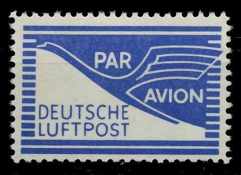 BIZONE FLUGPOST Nr 1 postfrisch 7D806E