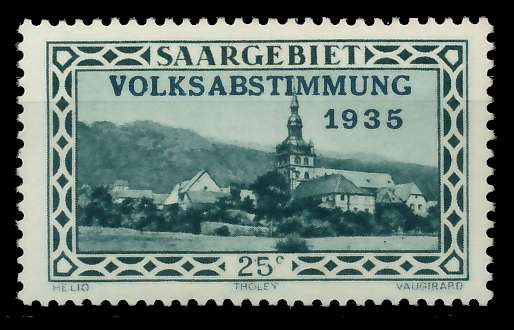 SAARGEBIET 1934 Nr 182 postfrisch 7DA602