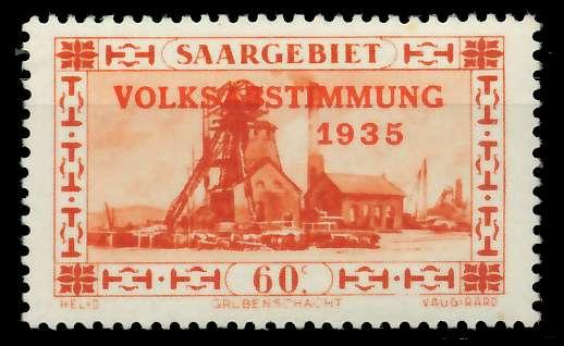 SAARGEBIET 1934 Nr 186 postfrisch 7DA60A