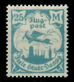 DANZIG 1923 Nr 133Y postfrisch 7DAAD2