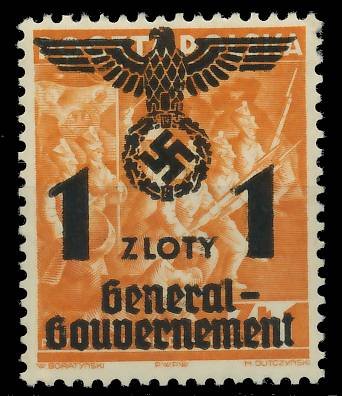 GENERALGOUVERNEMENT Nr 27 postfrisch 7DCEA6