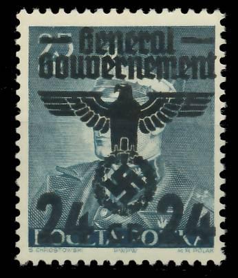 GENERALGOUVERNEMENT Nr 14II postfrisch 7DCEB6