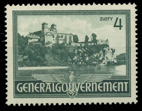 GENERALGOUVERNEMENT 1941 Nr 64 postfrisch 7DCEEE