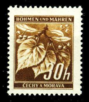 BÖHMEN MÄHREN 1941 Nr 64 postfrisch S526E72