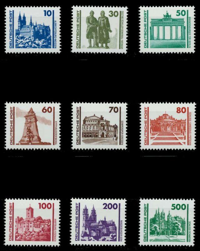 DDR 1990 Nr 3344-3352 postfrisch 7DCFCE