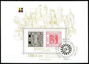 BRD BLOCK KLEINBOGEN 1990 2001 Block 46-ESST-BO S53CD52