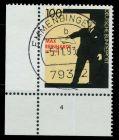 BRD 1993 Nr 1703 zentrisch gestempelt FORMNUMMER 4 7E205E