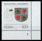BRD 1993 Nr 1661 postfrisch FORMNUMMER 2 7E2182