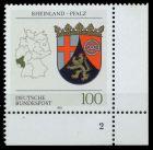BRD 1993 Nr 1664 postfrisch FORMNUMMER 2 7E2186