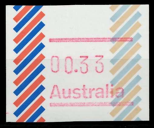 AUSTRALIEN ATM Nr ATM2-033 postfrisch 7E636A
