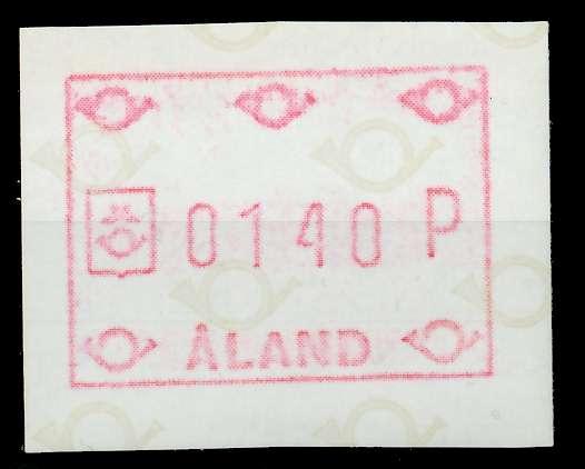 ALAND ATM Nr ATM1-140 postfrisch 7E636E