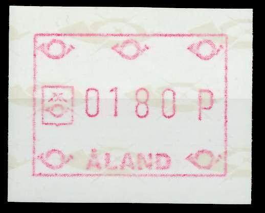 ALAND ATM Nr ATM2-180 postfrisch 7E637A