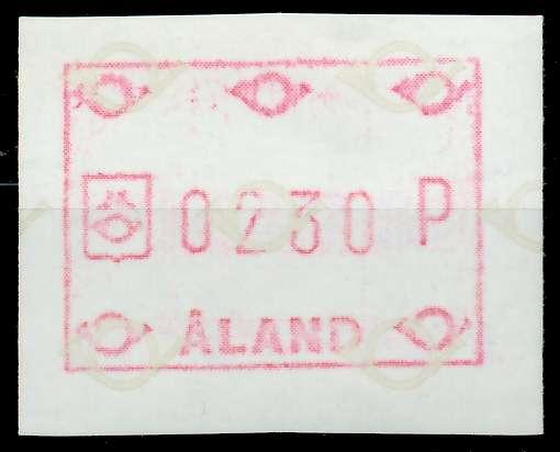 ALAND ATM Nr ATM1-230 postfrisch 7E63A2
