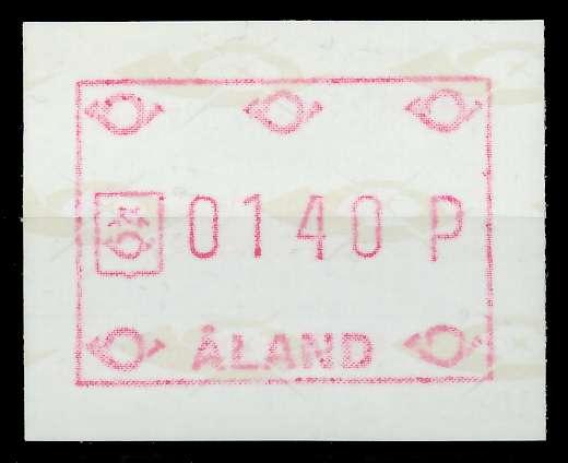 ALAND ATM Nr ATM2-140 postfrisch 7E63AE