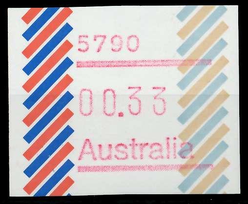AUSTRALIEN ATM Nr ATM1-033 postfrisch 7E63CE