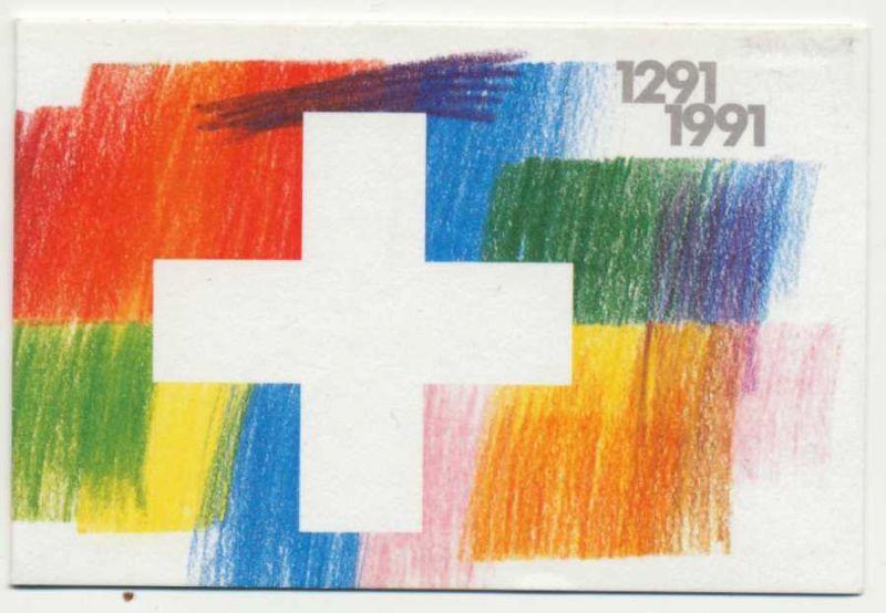 SCHWEIZ MARKENHEFT Nr MH 0-089 postfrisch S575882