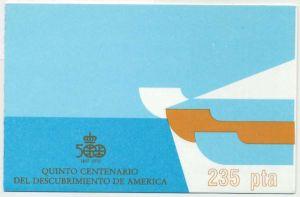 SPANIEN MARKENHEFTCHEN Nr MH5 postfrisch S57591A